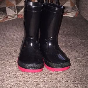 Other - NWOT toddler girl rain boots